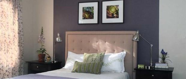 Dare colore ad una camera da letto: gli accent walls