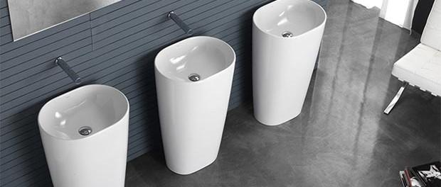 Arredare il bagno caratteristiche dei lavabi freestanding for Lavabi arredo bagno