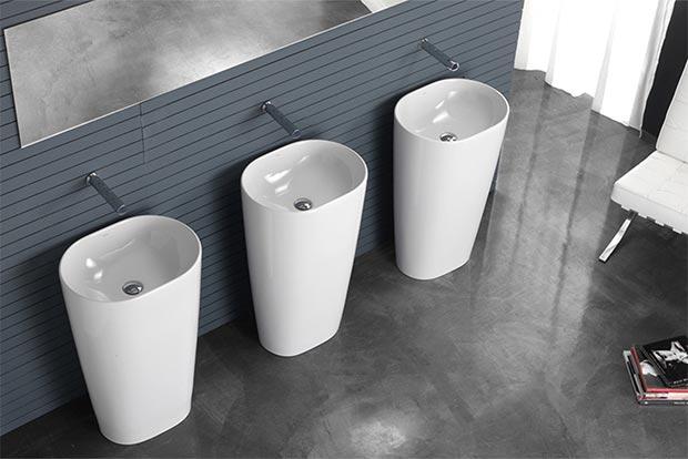 Arredare il bagno: caratteristiche dei lavabi freestanding blog