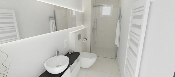 Come arredare un bagno lungo e stretto blog arredamento - Bagno stretto e lungo disposizione sanitari ...