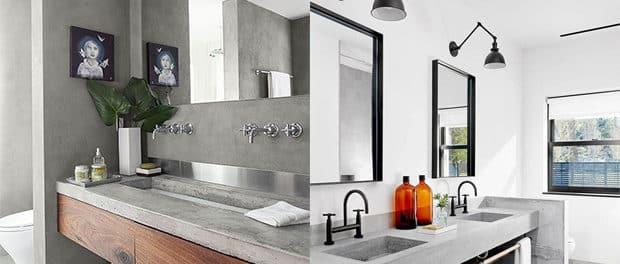 tante buone ragioni per usare il cemento in bagno | blog arredamento - Arredo Bagno Pero