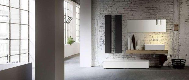 Arredare il bagno in modo alternativo: industrial e Feng Shui