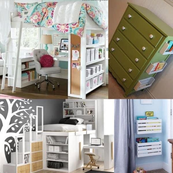 Soluzioni salvaspazio per la camera dei bambini blog for Soluzioni salvaspazio camera