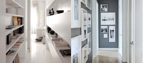 Corridoio stretto ecco quali colori scegliere blog - Mobili per corridoio stretto ...
