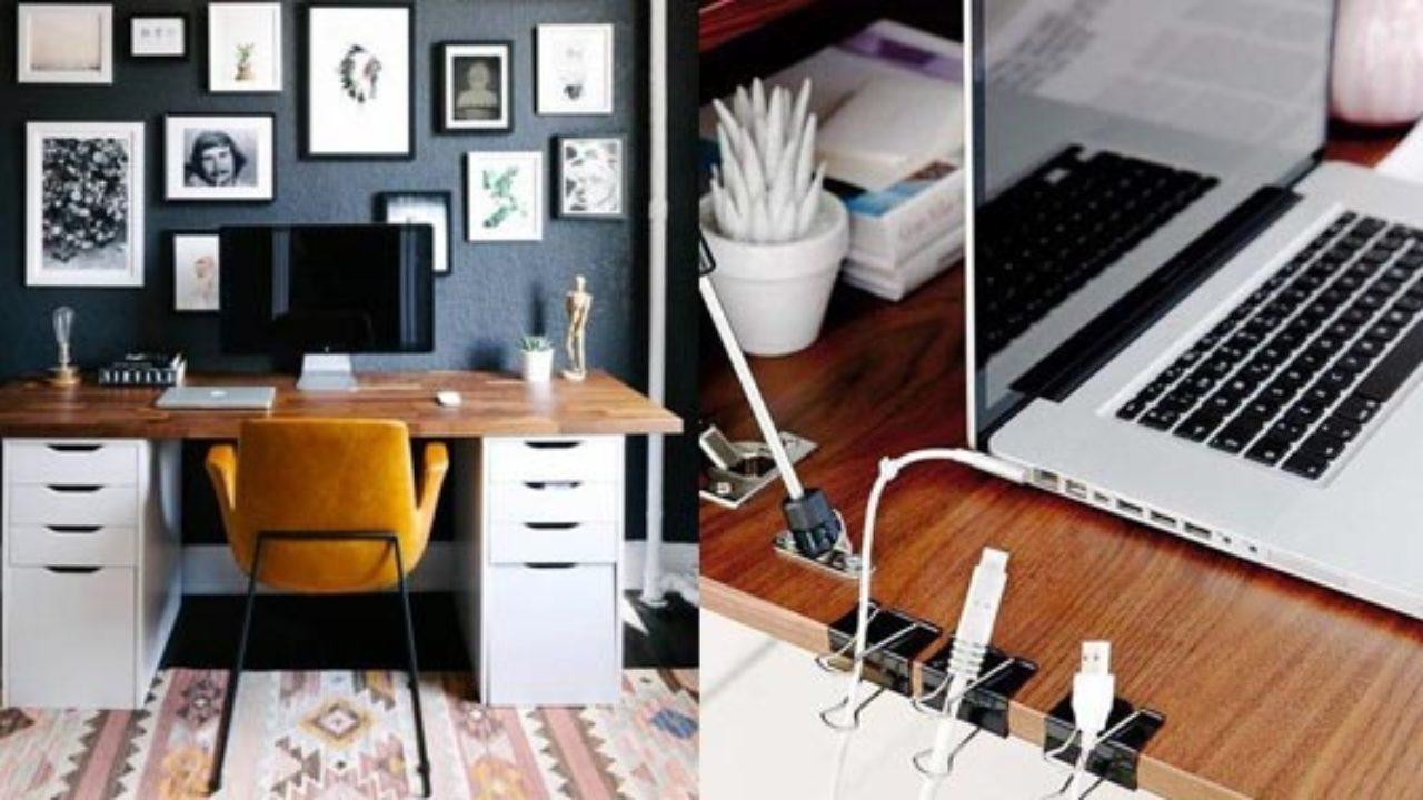 Come Organizzare La Propria Scrivania organizzare un ufficio in casa in modo ordinato - blog